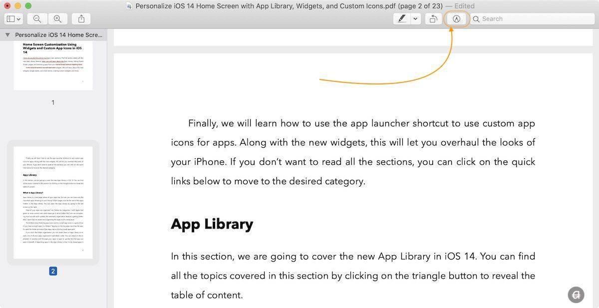 如何在Mac上使用预览合并多个PDF