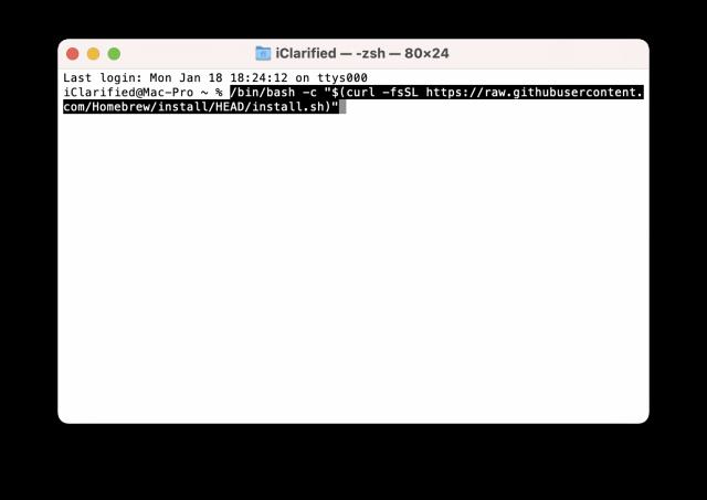 如何在Mac上安装Telnet