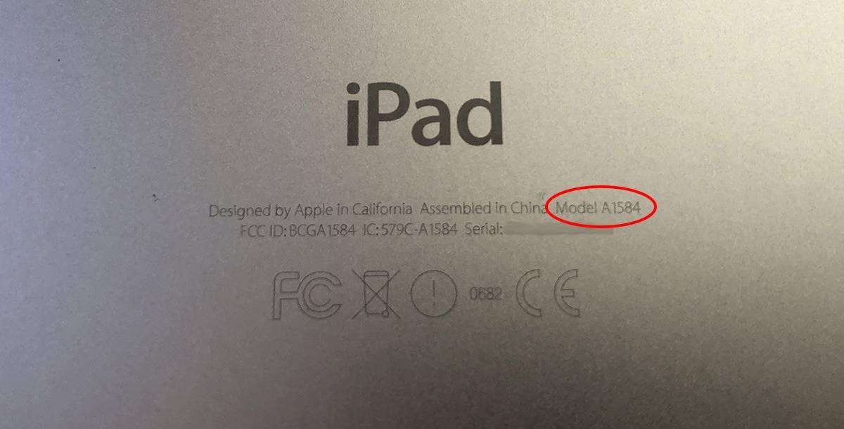 如何分辨您拥有的iPad型号,自行检查iPad型号