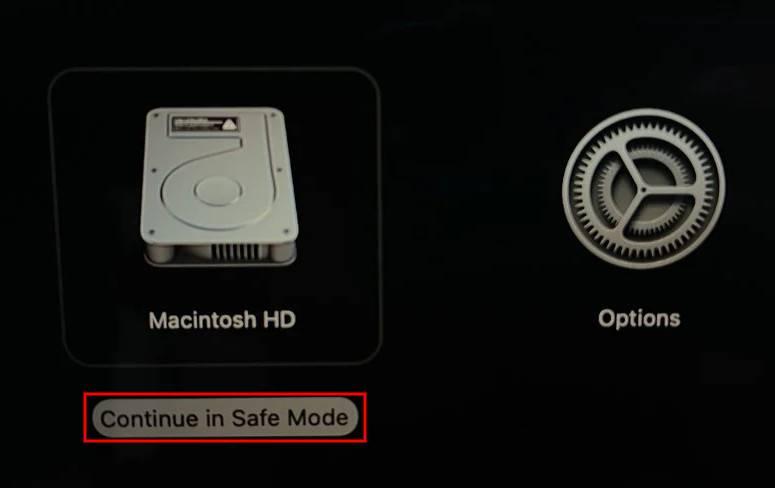 如何在搭载M1的新MacBook上以安全模式启动