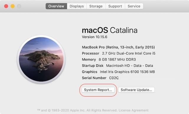 如何检查Mac的CPU配置