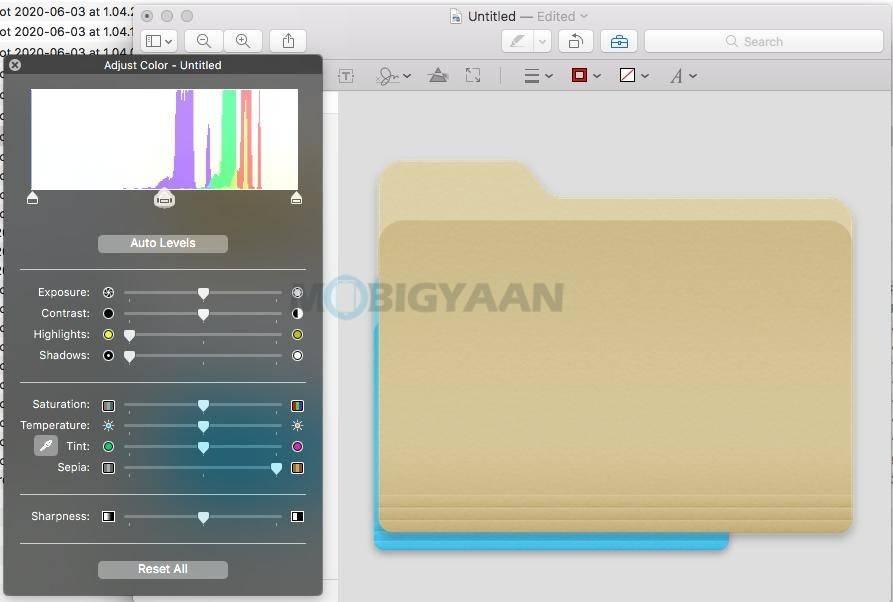 如何在Mac上更改文件夹颜色