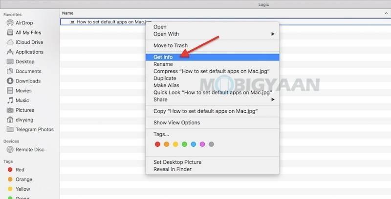 如何在Mac上设置或更改默认应用