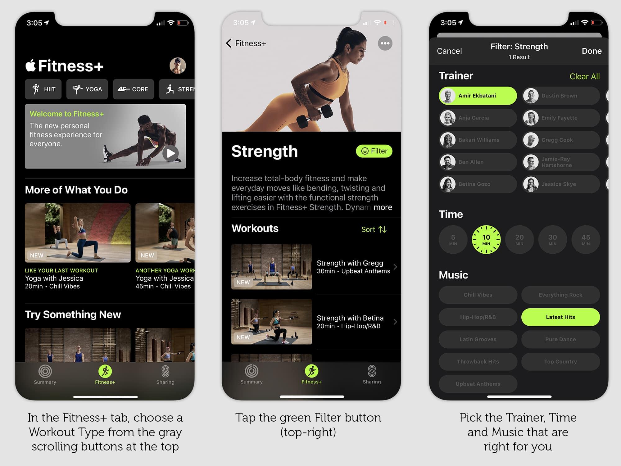 如何使用Apple Fitness +来保持新年的决心