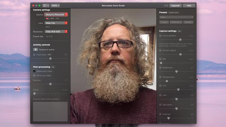 如何将iPhone 12用作Mac网络摄像头