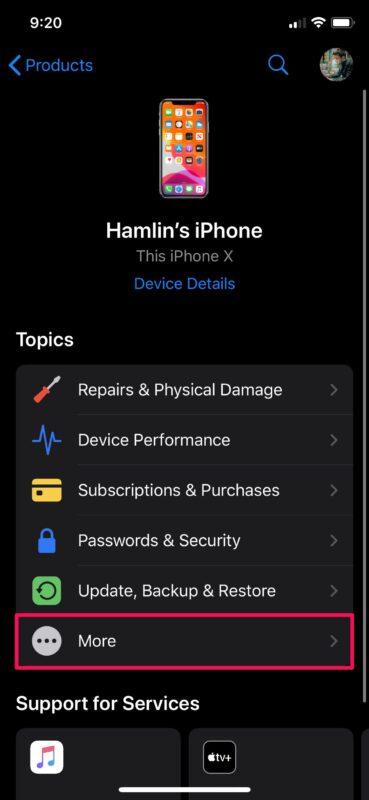 如何在iPhone和iPad上与Apple支持聊天