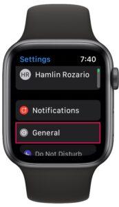 如何在Apple Watch上检查watchOS版本