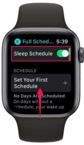 如何使用Apple Watch跟踪睡眠
