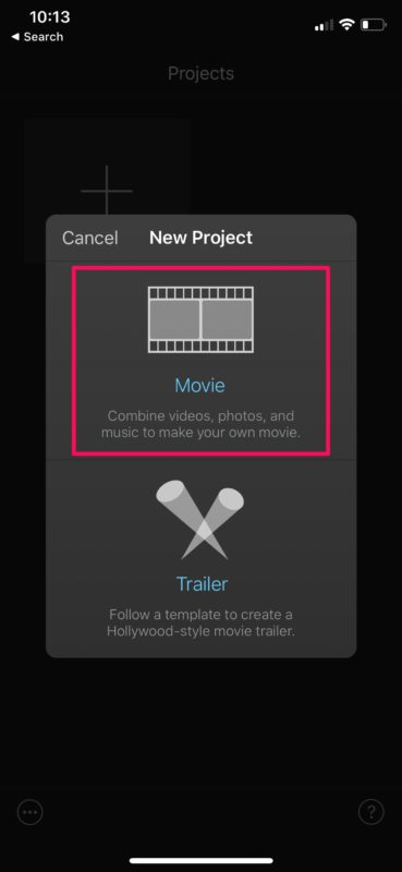 如何使用iMovie删除iPhone和iPad上的视频片段