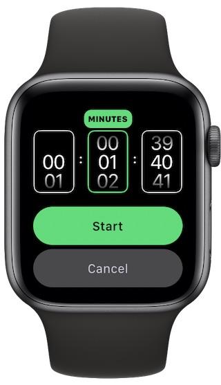 如何在Apple Watch上启动计时器