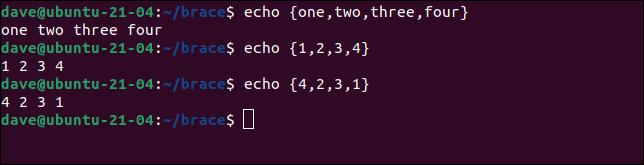 如何在 Linux 的 Bash Shell 中使用大括号扩展