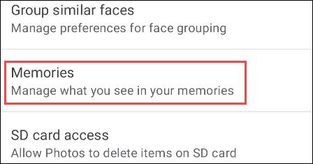 如何在 Google 相册的记忆中隐藏人物