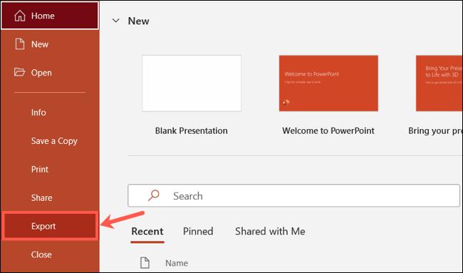 如何创建 PowerPoint 演示文稿的动画 GIF