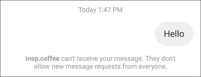 如何关闭 Instagram 中的消息请求