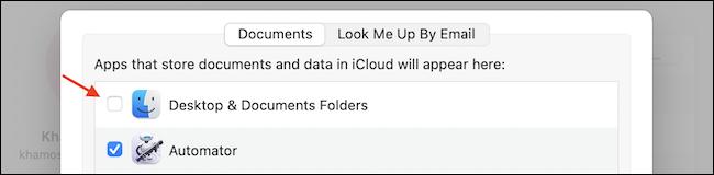 如何在 Mac 上禁用桌面和文档文件夹的 iCloud 同步