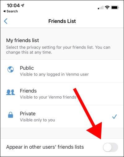 如何将您的 Venmo 好友列表设为私密