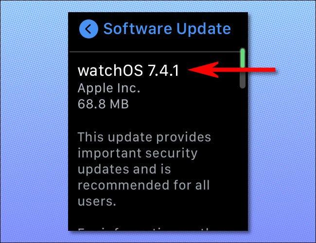 如何检查 Apple Watch 更新