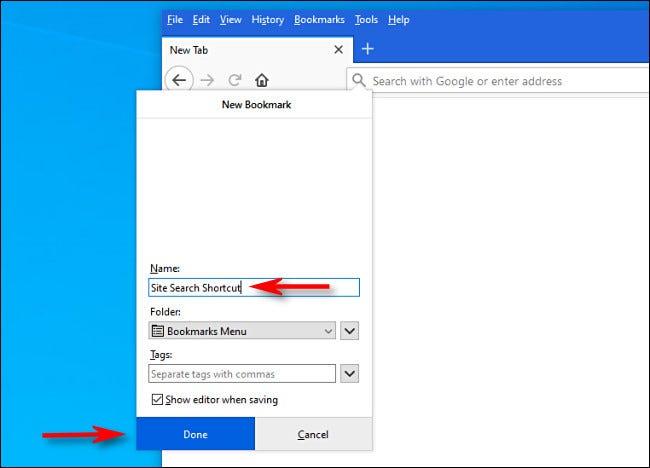 如何在 Firefox 中使用关键字进行即时站点搜索