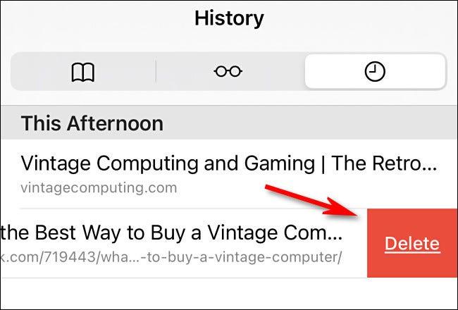 如何在 iPhone 和 iPad 上的 Safari 中清除最近的历史记录