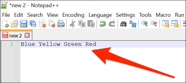 如何在 Notepad++ 中用换行符替换任何字符