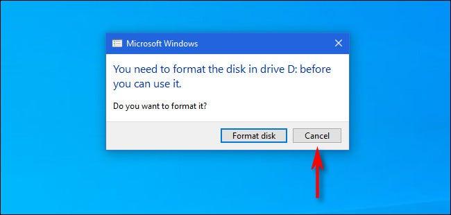 为什么 Windows 要格式化我的 Mac 驱动器?