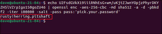 如何在 Bash 脚本中使用加密密码