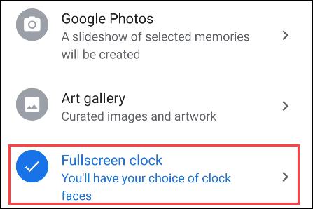 如何在 Google Nest Hub 上获得全屏时钟