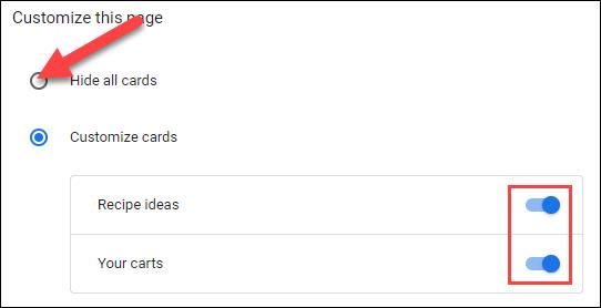 如何从 Chrome 的新标签页中删除建议