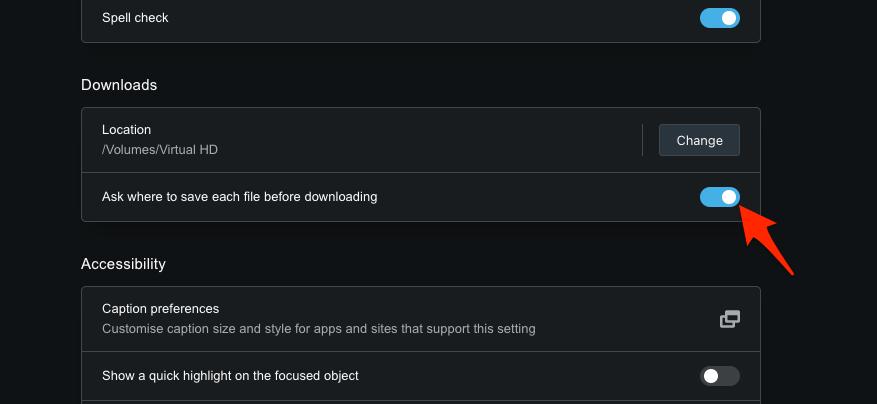 如何在 Opera 上管理下载位置设置?