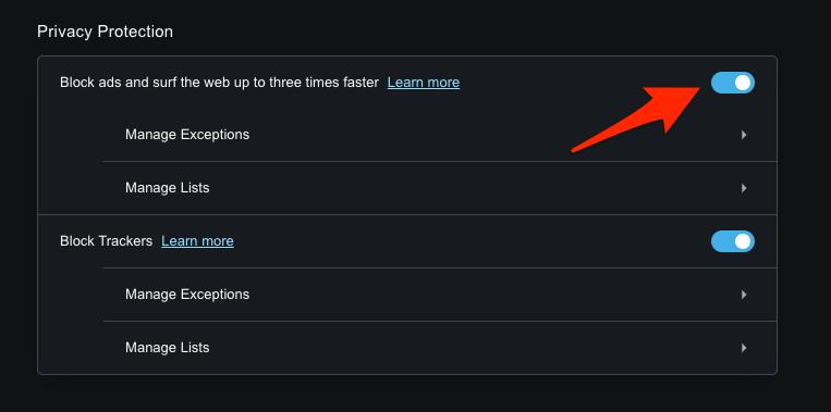 如何在 Opera 浏览器上屏蔽广告?