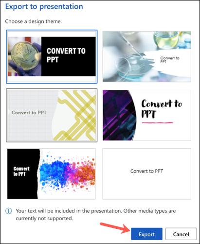 如何将 Word 文档转换为 PowerPoint 演示文稿