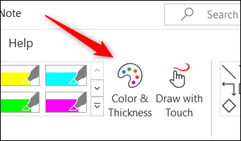 如何在 Microsoft OneNote 中绘图