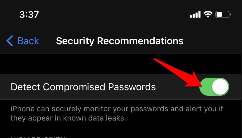 如何修复 Safari 密码泄露警告?