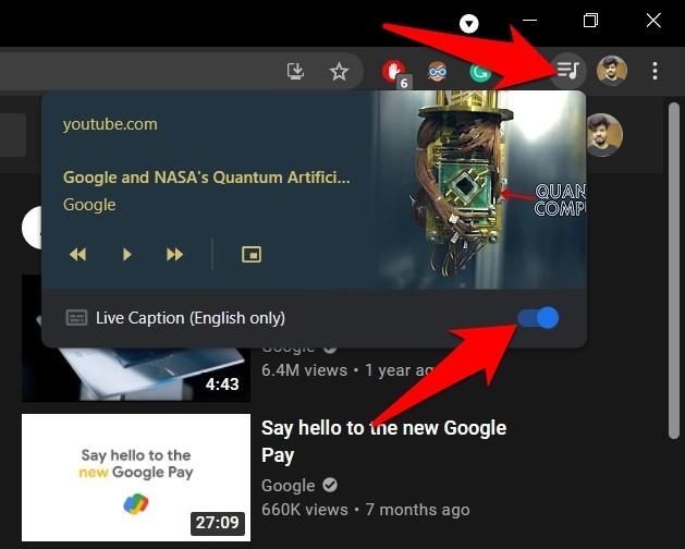 如何启用和禁用 Google Chrome 实时字幕?