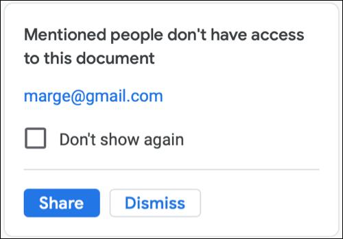 如何在 Google Docs 文档中嵌入联系人卡片