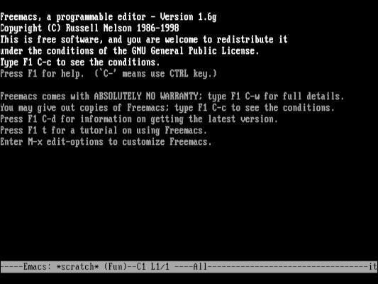 FreeDOS 如何成长并成为现代 DOS