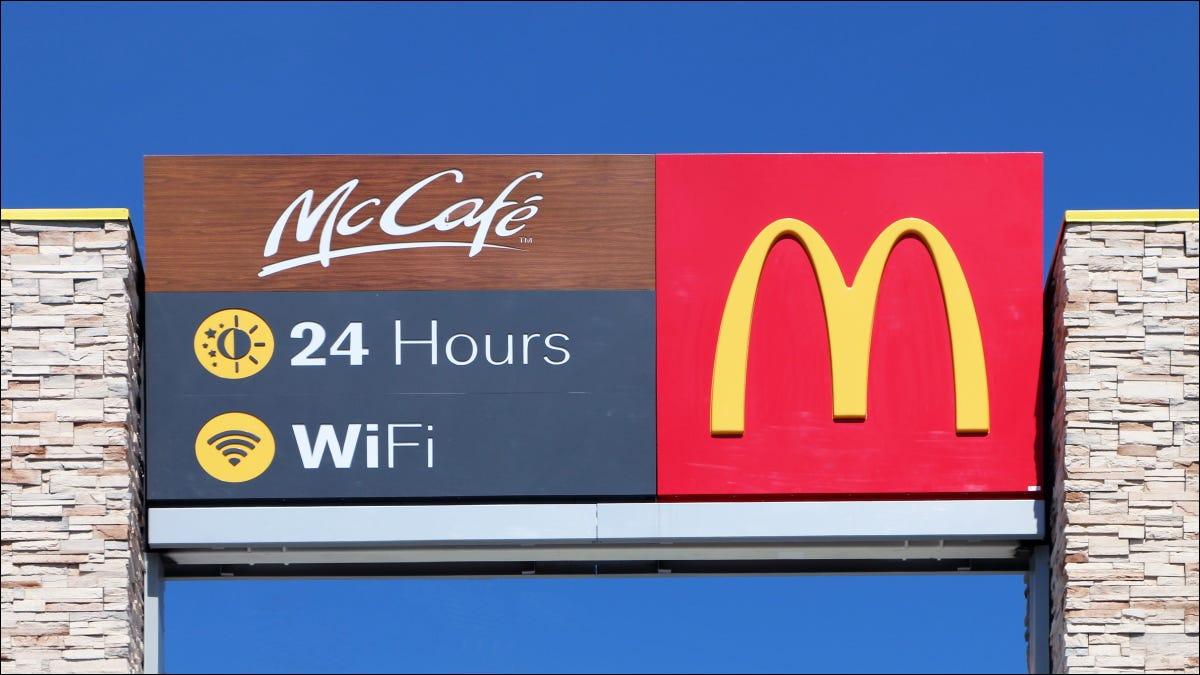 如何连接到麦当劳的免费 Wi-Fi