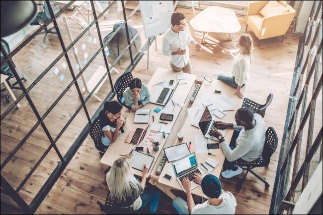 什么是虚拟联合办公空间?