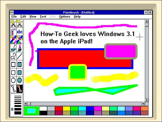 如何在 iPad 上安装 Windows 3.1