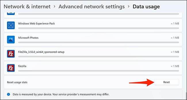 如何在 Windows 11 中设置 Internet 数据限制