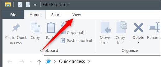 如何在 Windows 10 上更改图标大小