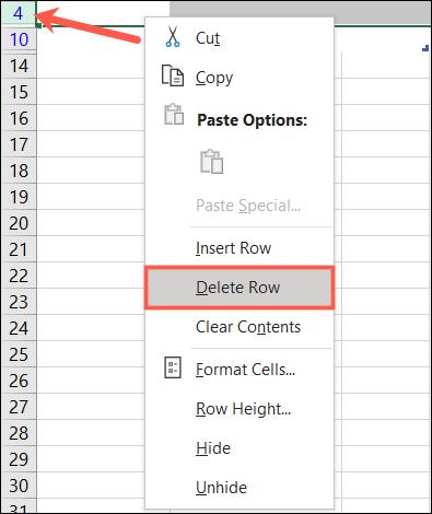 如何从 Microsoft Excel 中的表格中删除重复或空白行