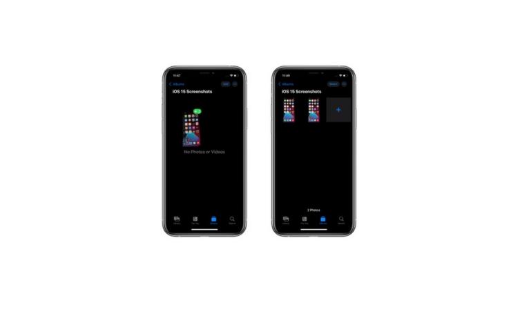 iOS 15 • 如何在 iPhone 中拖放屏幕截图?