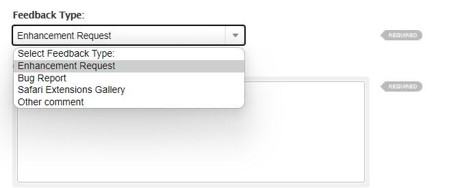 如何向 Safari 开发人员报告错误和功能请求?
