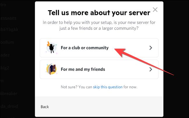 如何在 Discord 上设置社区服务器