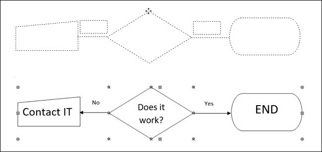 如何在 Microsoft Word 中对形状和对象进行分组和取消分组