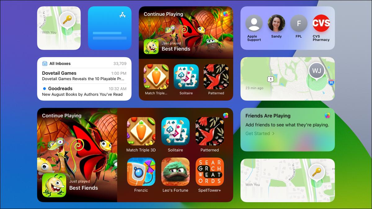 2021 年秋季将在 iPhone 和 iPad 上推出 6 款新的 Apple 小工具