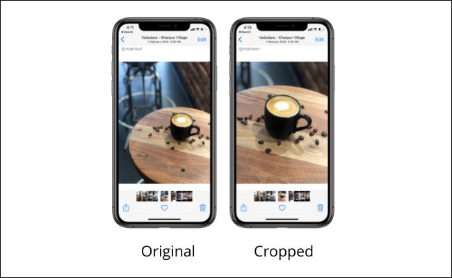 如何在 iPhone 和 iPad 上裁剪照片