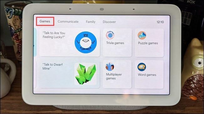 如何在 Google Nest Hub 上玩游戏
