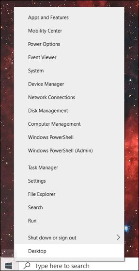 如何访问 Windows 10 的隐藏高级用户菜单
